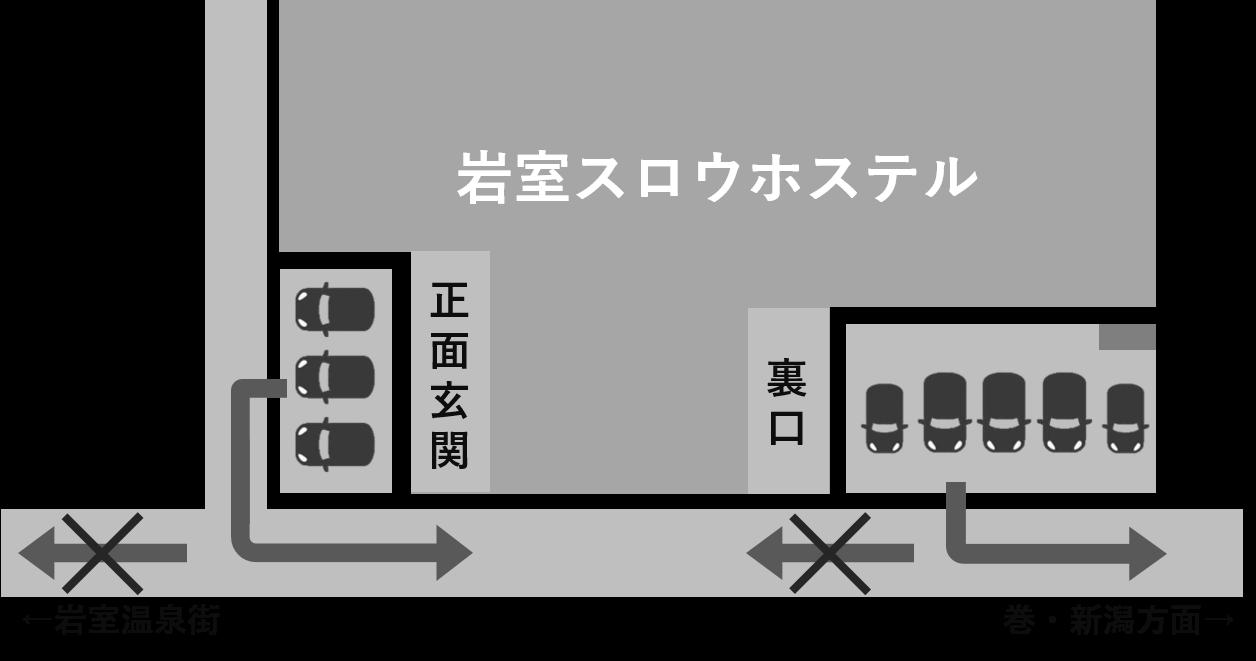 お駐車場マップ